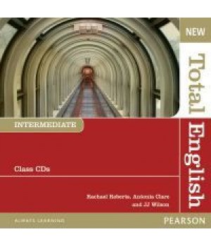 Диски New Total English Intermediate Class Audio CD