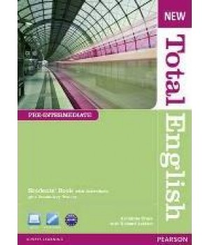 New Total English Pre-Intermediate Students' Book with Active Book