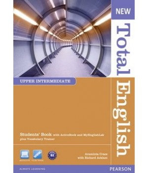Підручник New Total English Upper Intermediate Students' Book with Active Book and MyLab Pack
