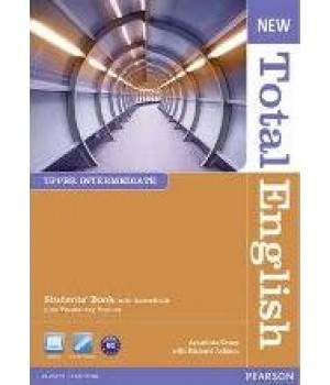 Підручник New Total English Upper Intermediate Students' Book with Active BookPack