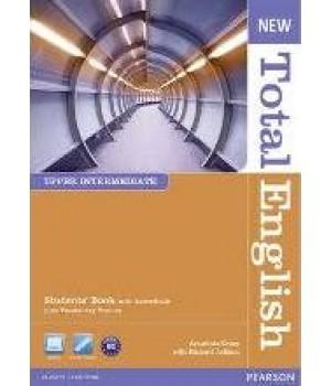 Учебник New Total English Upper Intermediate Students' Book with Active BookPack