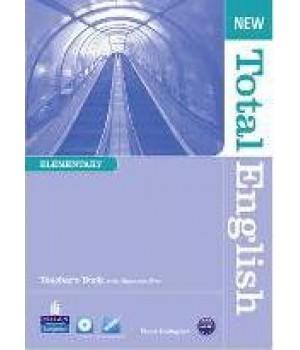 Книга для вчителя New Total English Elementary Teacher's Book and Teacher's ResourceCD Pack