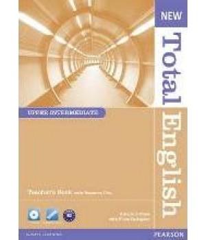 Книга для вчителя New Total English Upper Intermediate Teacher's Book and Teacher's Resource CD Pack