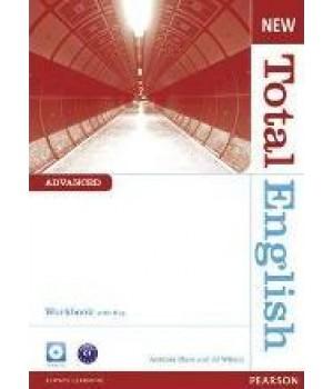 Робочий зошит New Total English Advanced Workbook with Key and Audio CD Pack