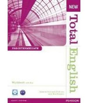 Робочий зошит New Total English Pre-Intermediate Workbook with Key and Audio CD Pack