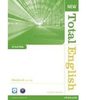 Робочий зошит New Total English Starter Workbook with Key and Audio CD Pack