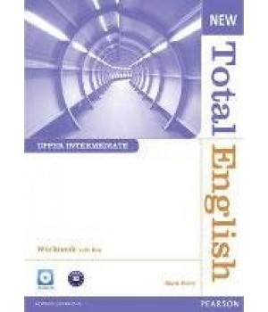 Робочий зошит New Total English Upper Intermediate Workbook with Key and Audio CD Pack