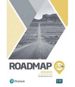 Робочий зошит Roadmap A2+ Workbook with Key and Online Audio