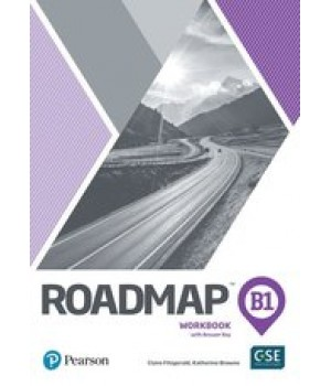 Рабочая тетрадь Roadmap B1 Workbook with Key and Online Audio