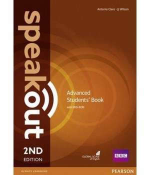 Підручник Speakout (2nd Edition) Advanced Student's Book with DVD-ROM