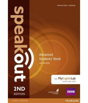 Підручник Speakout (2nd Edition) Advanced Student's Book with DVD-ROM and MyLab Pack