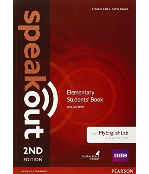 Підручник Speakout (2nd Edition) Elementary Student's Book with DVD-ROM and MyLab Pack