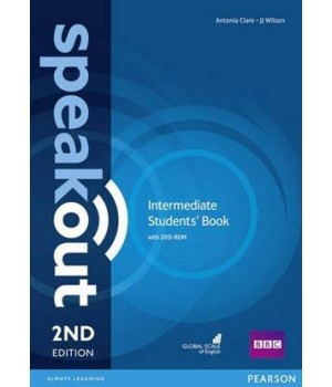 Підручник Speakout (2nd Edition) Intermediate Student's Book with DVD-ROM
