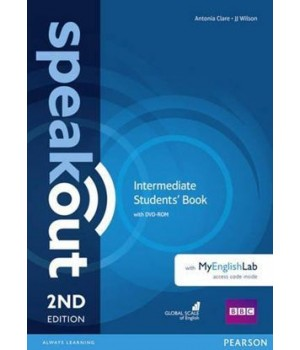 Підручник Speakout (2nd Edition) Intermediate Student's Book with DVD-ROM and MyLab Pack