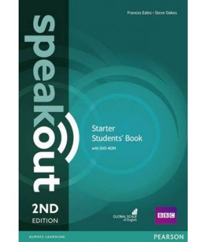 Підручник Speakout (2nd Edition) Starter Student's Book with DVD-ROM