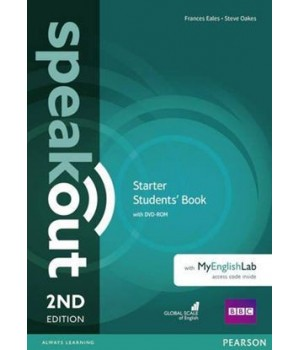 Підручник Speakout (2nd Edition) Starter Student's Book with DVD-ROM and MyLab Pack