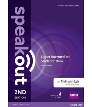 Підручник Speakout (2nd Edition) Upper-Intermediate Student's Book with DVD-ROM and MyLab Pack