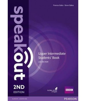Підручник Speakout (2nd Edition) Upper-Intermediate Student's Book with DVD-ROM