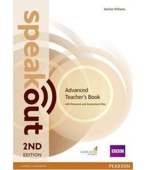Книга для вчителя Speakout (2nd Edition) Advanced Teacher's Guide with Resource & Assessment Disc