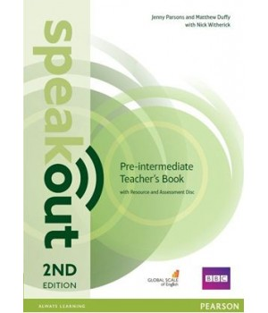 Книга для вчителя Speakout (2nd Edition) Pre-Intermediate Teacher's Guide with Resource & Assessment Disc