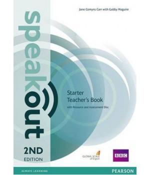 Книга для вчителя Speakout (2nd Edition) Starter Teacher's Guide with Resource & Assessment Disc
