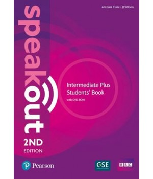 Підручник Speakout (2nd Edition) Intermediate Plus Student's Book with DVD-ROM