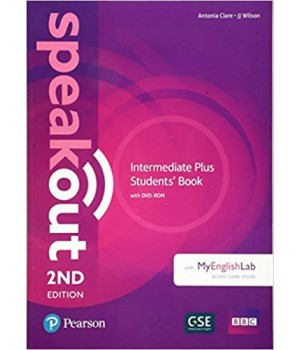 Підручник Speakout (2nd Edition) Intermediate Plus Student's Book with DVD-ROM and MyLab Pack