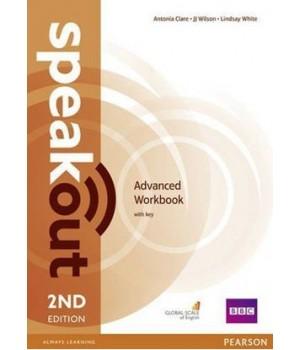 Рабочая тетрадь Speakout (2nd Edition) Advanced Workbook with Key