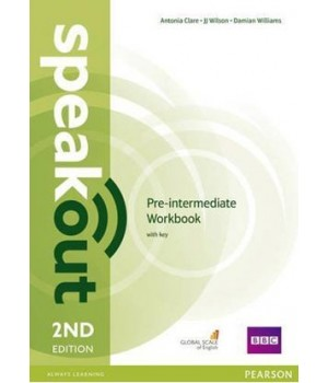 Робочий зошит Speakout (2nd Edition) Pre-Intermediate Workbook with Key