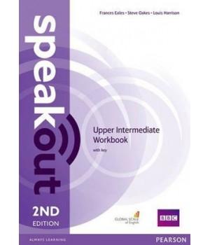 Рабочая тетрадь Speakout (2nd Edition) Upper-Intermediate Workbook with Key