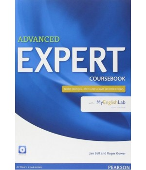 Підручник Advanced Expert (3rd Edition) Coursebook with Audio CD & MyEnglishLab