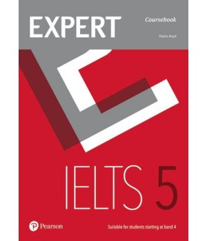 Підручник Expert IELTS Band 5 Students' Book with Online Audio