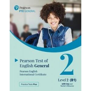 Книга для вчителя Practice Tests Plus PTE General B1 Teacher's book with key