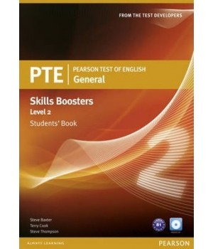Підручник PTE General Skills Booster 2 Students' Book with Audio CD