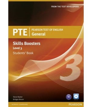 Підручник PTE General Skills Booster 3 Students' Book with Audio CD