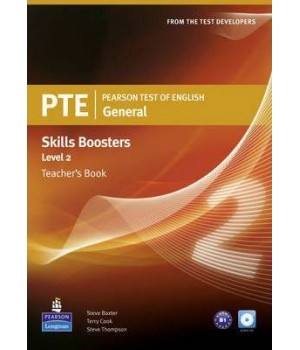 Книга для вчителя PTE General Skills Booster 2 Teachers' Book with Audio CD