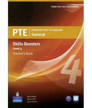 Книга для вчителя PTE General Skills Booster 4 Teachers' Book with Audio CD