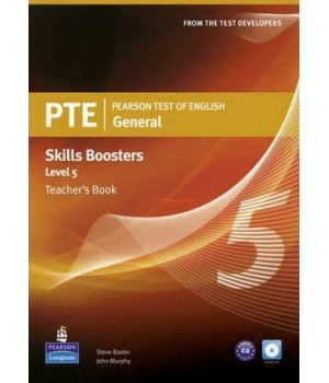 Книга для вчителя PTE General Skills Booster 5 Teachers' Book with Audio CD