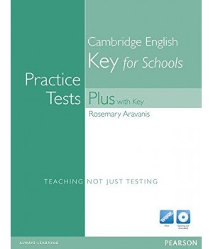 Тести Key for Schools Practice Tests Plus with Key with Multi-ROM and Audio CD