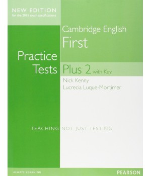 Тесты FCE Practice Tests Plus 2 for revised 2015 exam Book With Key and Online Audio