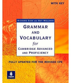 Учебник Grammar and Vocabulary for Cambridge Advanced and Proficiency Paperback with key