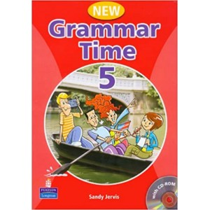 Підручник New Grammar Time Student's Book 5 with Multi-ROM