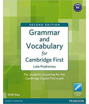 Підручник Grammar and Vocabulary for First Certificate Paperback with key