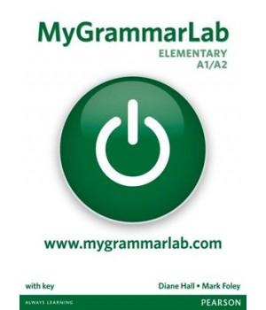 Підручник MyGrammarLab Elementary With Key and MyLab Pack