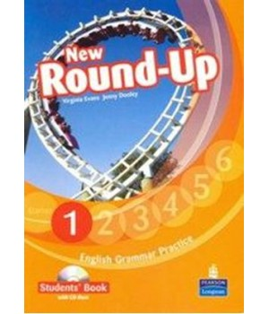 Підручник New Round-Up Grammar Practice Level 1 Student Book + CD-ROM