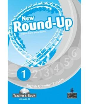 Книга для вчителя New Round-Up Grammar Practice Level 1 Teacher's Book + Audio CD