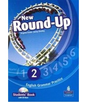 Підручник New Round-Up Grammar Practice Level 2 Student Book + CD-ROM