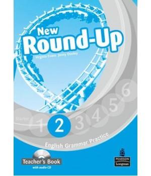 Книга для вчителя New Round-Up Grammar Practice Level 2 Teacher's Book + Audio CD