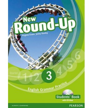 Підручник New Round-Up Grammar Practice Level 3 Student Book + CD-ROM