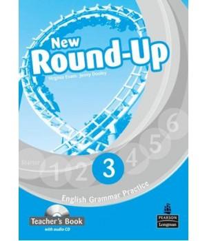 Книга для вчителя New Round-Up Grammar Practice Level 3 Teacher's Book + Audio CD